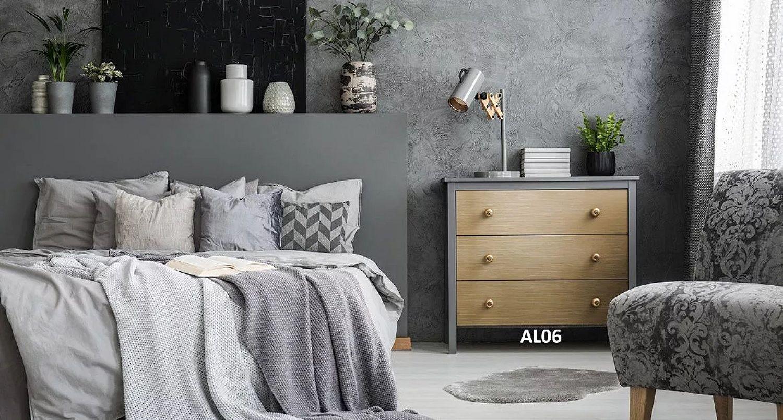 Trendy wnętrzarskie 2020 roku – metal w sypialni i w salonie