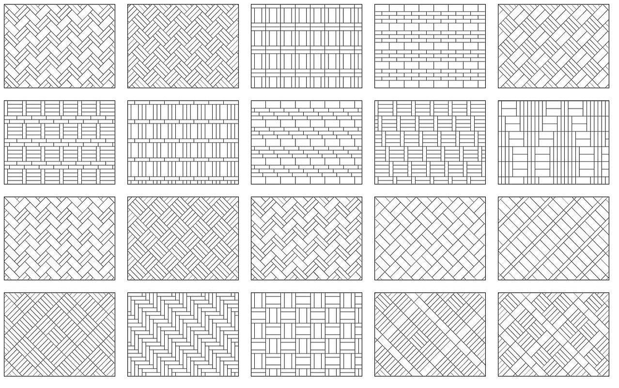 szablony do układania paneli podłogowych