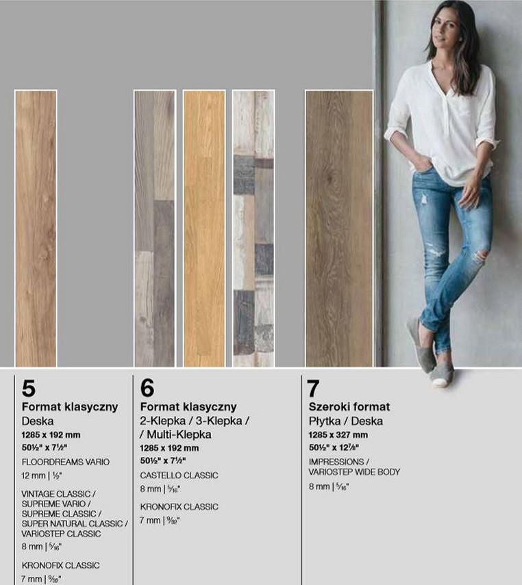 rozmiary paneli podłogowych
